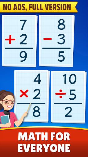 Math Games - Addition, Subtraction, Multiplication 1.1.8 screenshots 1