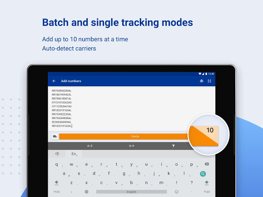ALL-IN-ONE PACKAGE TRACKING 3.1.4281 Screenshots 8