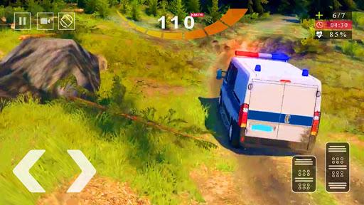 Police Van Gangster Chase - Police Bus Games 2020  screenshots 6