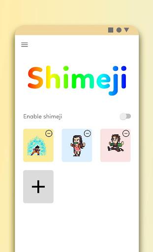 Anime Shimeji - Cool Sticker Animated on screen 3.0 Screenshots 1