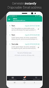 Temp Mail Pro 1.00 (Paid for free) 2
