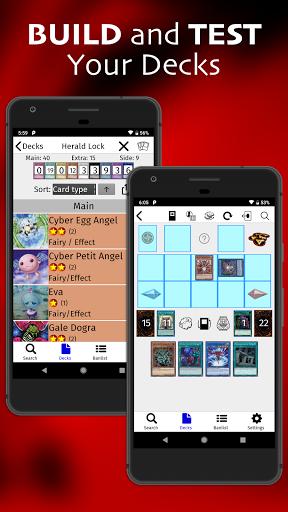 yugipedia: yugioh deck builder screenshot 1