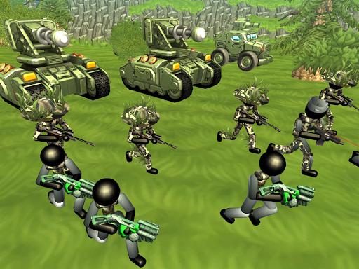 Stickman Tank Battle Simulator 1.10 screenshots 10