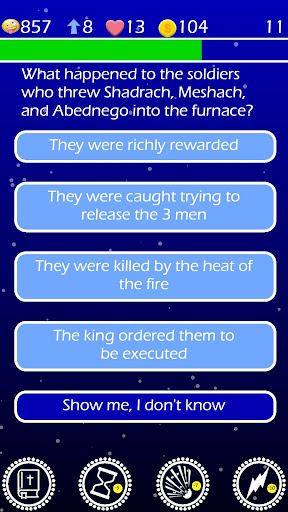Play The Jesus Bible Trivia Challenge Quiz Game screenshots 3