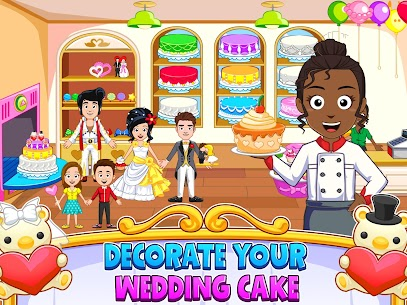 My Town : Wedding Bride Game for Girls Free (MOD, Unlimited Money) For Android 8