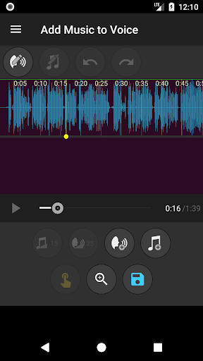Add Music to Voice  screenshots 2