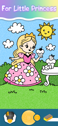 Coloring pages for little princesses  screenshots 1