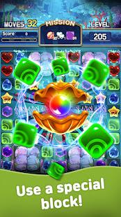 Jewel Abyss: Match3 puzzle Apkfinish screenshots 4