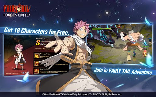 FAIRY TAIL: Forces Unite! android2mod screenshots 2