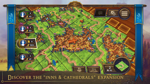 Carcassonne: Official Board Game -Tiles & Tactics