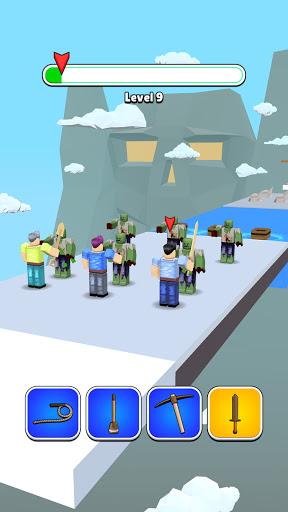 Roblock Transform Run - Epic Craft Race apkpoly screenshots 21