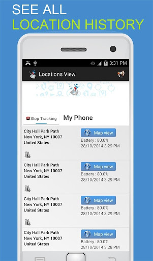 OneLocator: Phone Tracker By Number 5.81 Screenshots 2