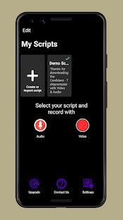 Confident-Teleprompter with Video & Audio
