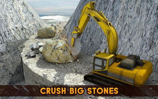 Hill Excavator Mining Truck Construction Simulator screenshots 10