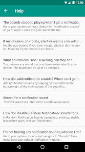 Random Notification Sounds
