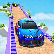 Craziest Mega Ramp Car Stunts: GT Racing Car Games