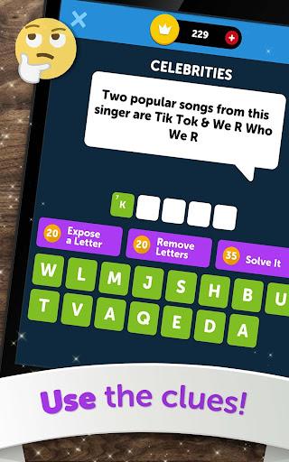 Crossword Quiz - Crossword Puzzle Word Game! 3.85g screenshots 21