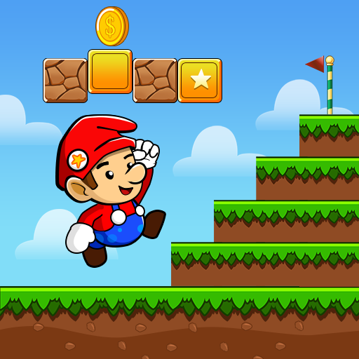 Super Dan's World - Free Run Adventure Game