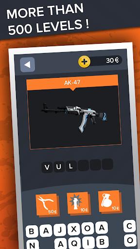 Ultimate Quiz for CS:GO - Skins | Cases | Players apkdebit screenshots 4