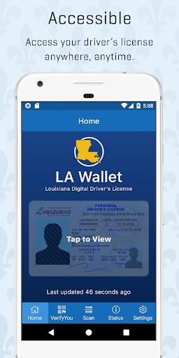 la wallet screenshot 1