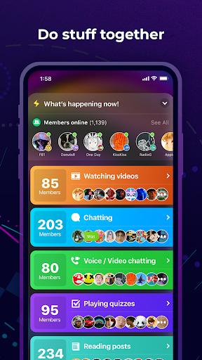 Amino: Communities and Chats apktram screenshots 4