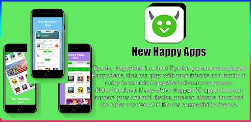 descargar HappyMod : New Happy Apps And Tips For Happymod apk