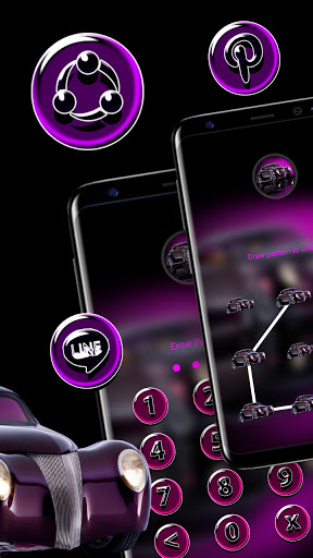 Purple Car Theme hack tool