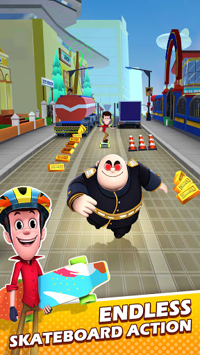 Smaashhing Simmba - Skateboard Rush android2mod screenshots 2
