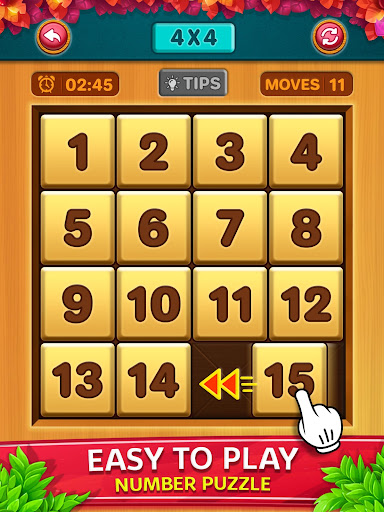 Number Puzzle - Classic Slide Puzzle - Num Riddle screenshots 9