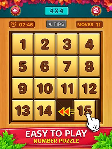 Number Puzzle - Classic Slide Puzzle - Num Riddle  screenshots 8