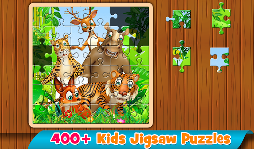 Kids Puzzles 😄 Jigsaw puzzles for kids & toddlers  screenshots 1