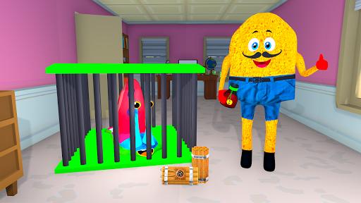 SPONGE FAMILY NEIGHBOR 2: SQUID ESCAPE 3D GAME 2.5 screenshots 1