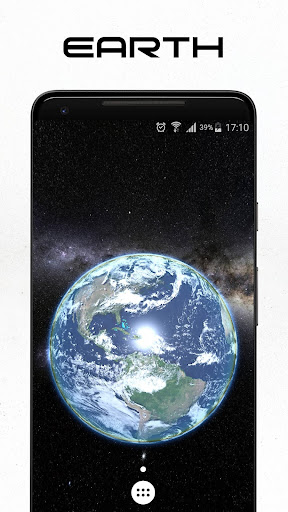 Space 3D Live Wallpaper apktram screenshots 1