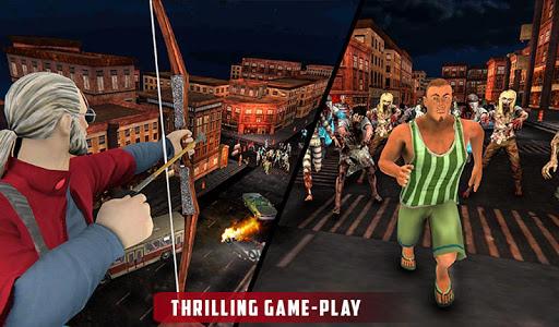 Archer Hunting Zombie City Last Battle 3D modavailable screenshots 14