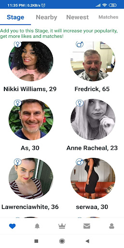 USgab - US nearby dating app for USA Singles modavailable screenshots 3