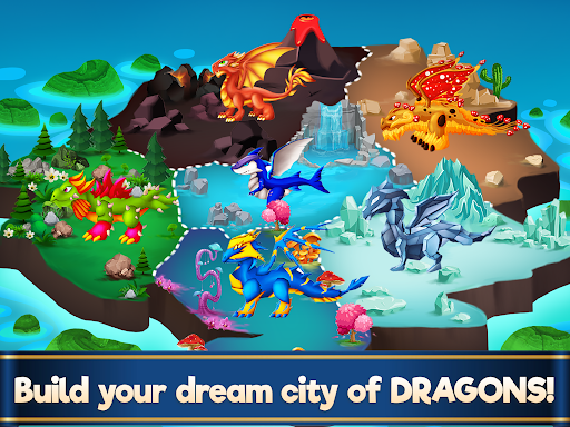 Dragon Paradise City: Breeding War Game  screenshots 12