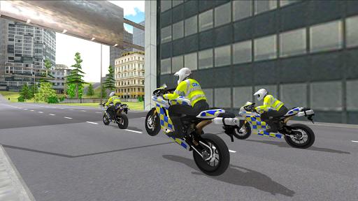 Police Motorbike Simulator 3D screenshots 2