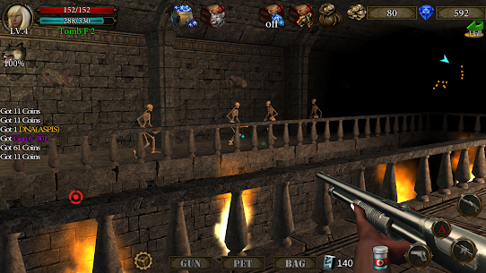 Dungeon Shooter MOD (Free Shopping) APK for Android 3