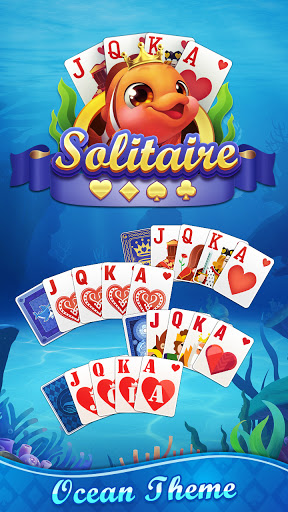 Solitaire Fish - Classic Klondike Card Game android2mod screenshots 5