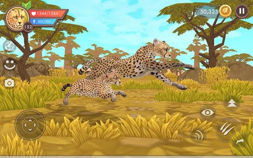 WildCraft: Sim sauvage en ligne 3D  APK MOD (Astuce) screenshots 2