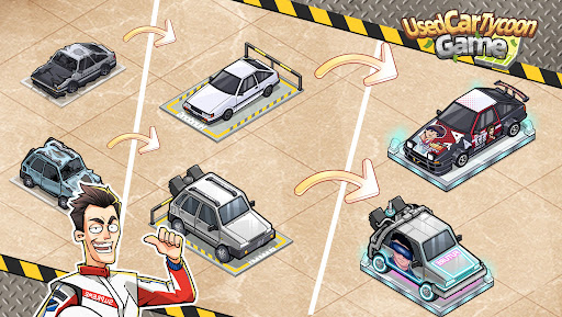 Used Car Tycoon Game Apkfinish screenshots 10
