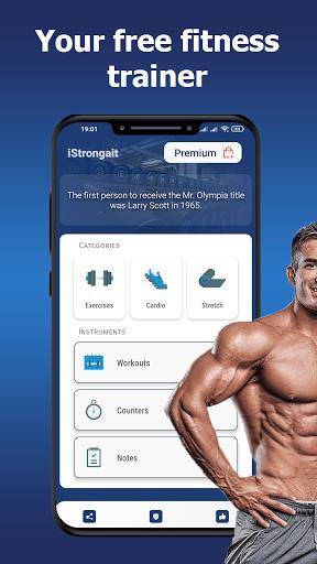 Gym workouts - Training programs.  screenshots 1