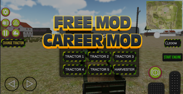 Tractor Driving Game 2021 Farming Real Life Apk 4