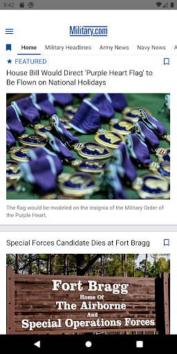Military News by Military.com screenshots apkspray 1