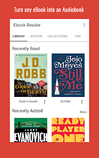 Audiobook Reader - Turn ebooks into Audiobooks Screenshot
