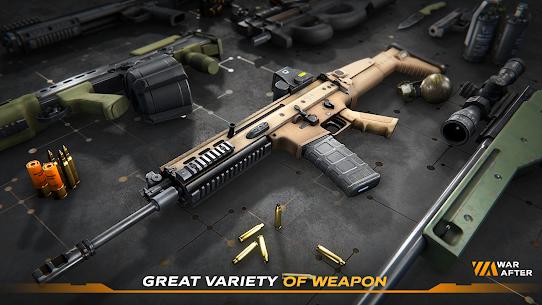 War After Shooter MOD APK Unlocked Weapons Unlimited 0.94 3