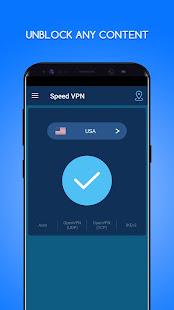 Speed VPN-Fast, Secure, Free Unlimited Proxy 4.0.4 Screenshots 2