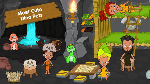My Dinosaur Town - Jurassic Caveman Games for Kids 3.3 Screenshots 7