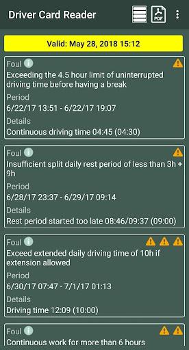 Driver Card Reader  Screenshots 7