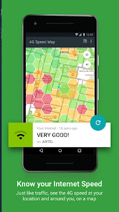 Fastah 4G Finder: LTE speed map + internet monitor screenshots 1